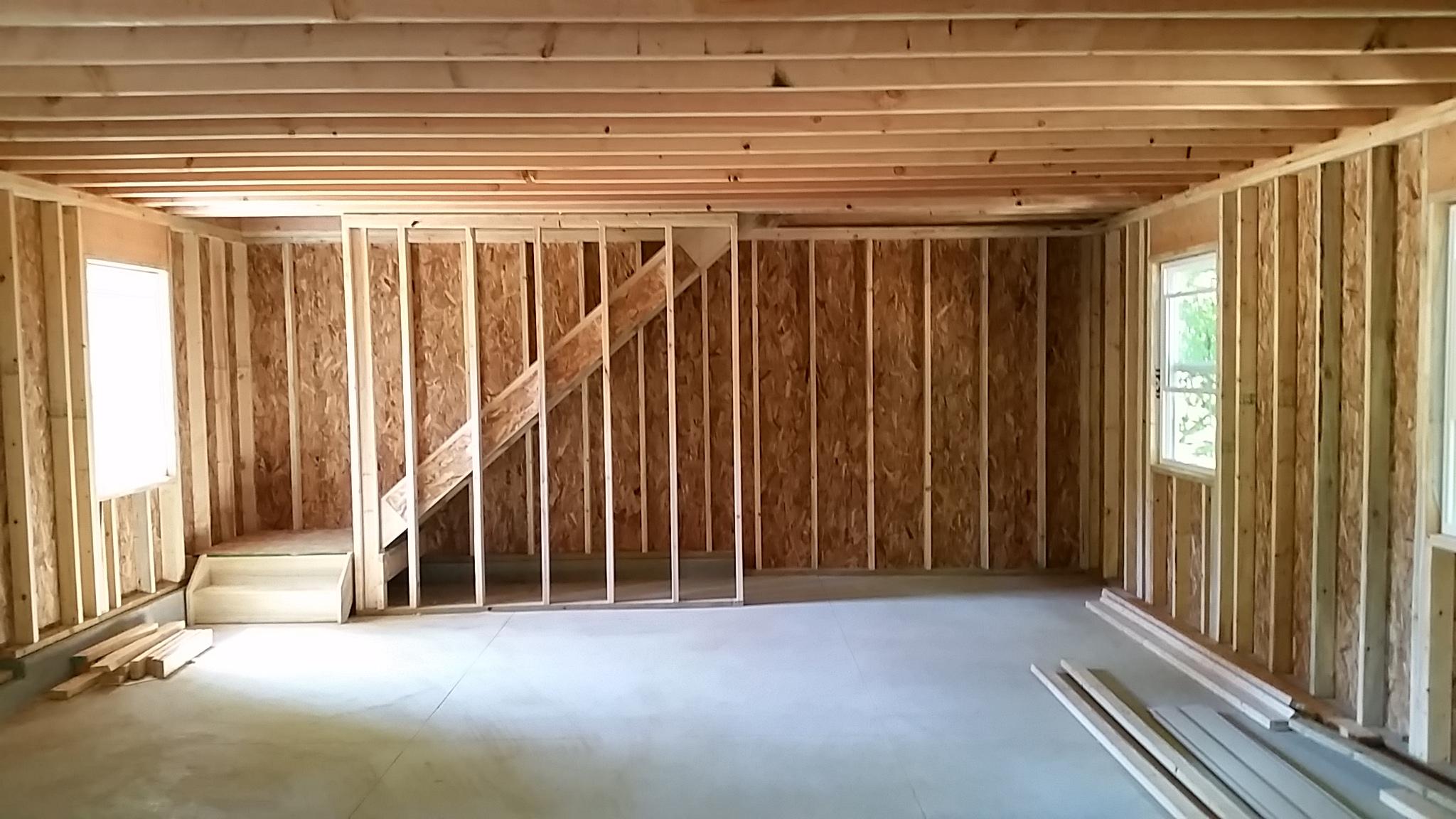 Godfather Garage Amp Roofing Company Garage Foundation